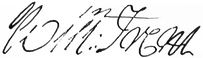 Judge William Trent Signature